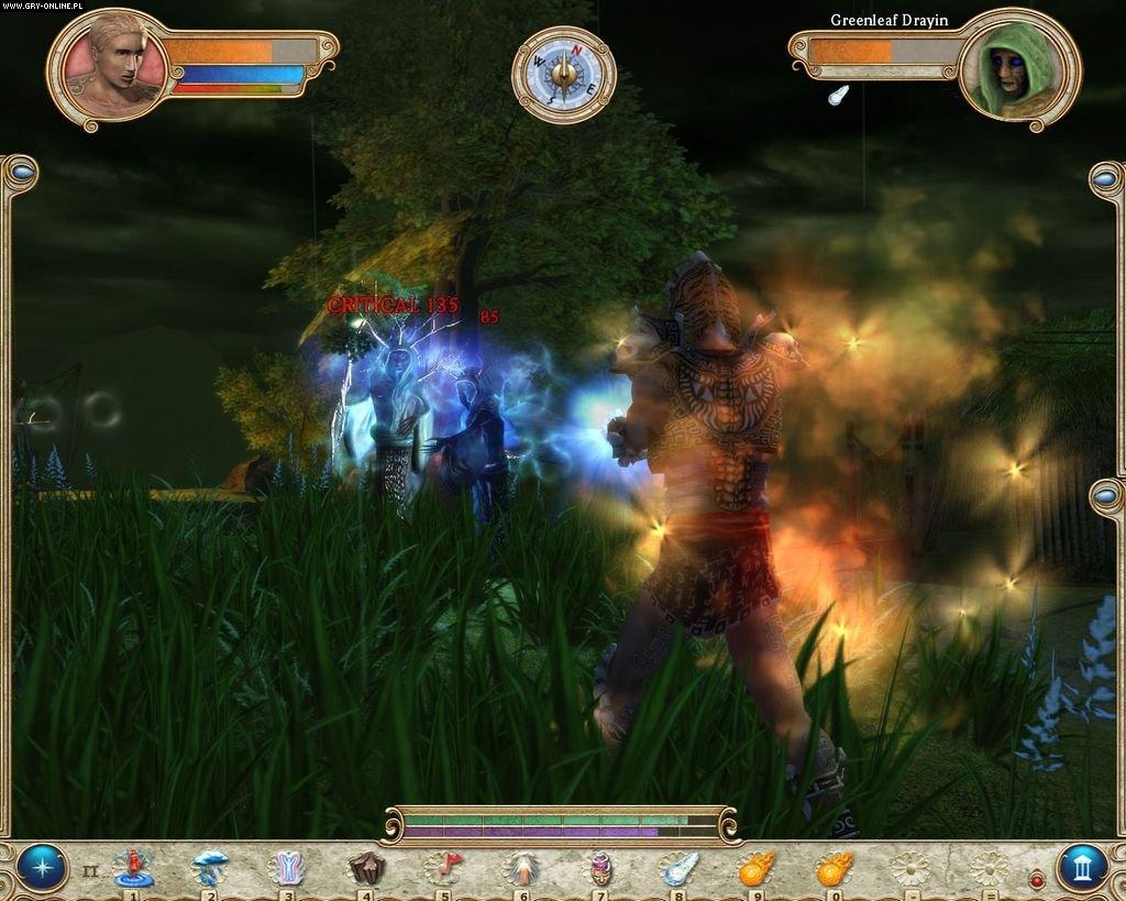 Numen: Contest of Heroes (gra) - screen 1/57, Screeny z gry, zdj�cie z gry w wersji PC, RPG akcji, Akella, Axel Springer Polska, TPP, mitologia - data publikacji: 2007-05-10 14:48:37 - gry-online.pl