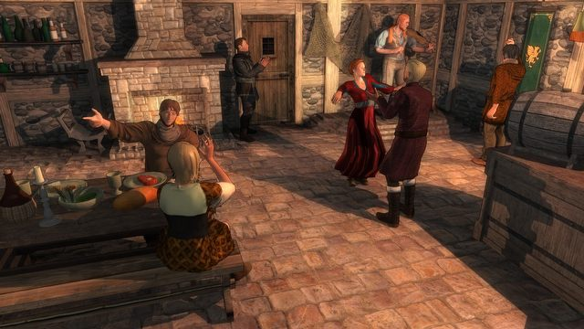 Crossroads Inn - Medieval Simpses get drunk in an inn - picture #3