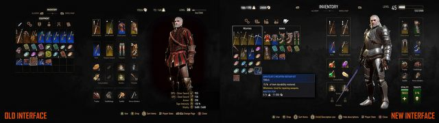 The Witcher 3 to get a new interface alongside the release of Blood and Wine – check out the comparison images - picture #3