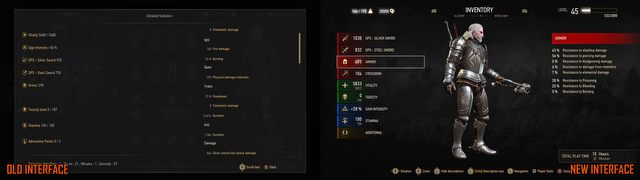 The Witcher 3 to get a new interface alongside the release of Blood and Wine – check out the comparison images - picture #4