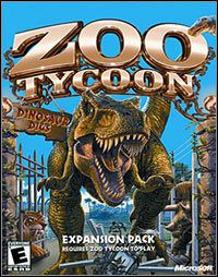 Okładka Zoo Tycoon: Dinosaur Digs (PC)