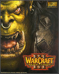 Warcraft III: Reign of Chaos Game Box