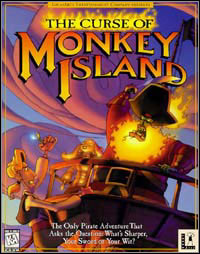 Gra The Curse of Monkey Island (PC)