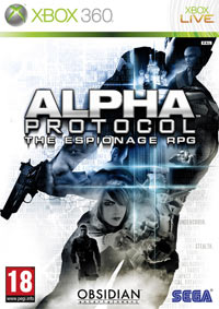 Game Alpha Protocol: The Espionage RPG (PC) Cover