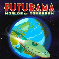 Okładka Futurama: Worlds of Tomorrow (AND)