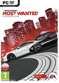Game Need for Speed: Most Wanted (X360) Cover