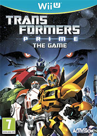 Okładka Transformers Prime: The Game (WiiU)
