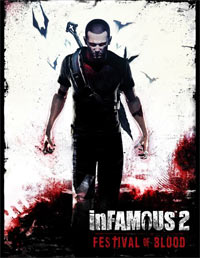 Okładka InFamous 2: Festival of Blood (PS3)