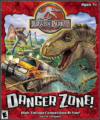 Okładka Jurassic Park III: Danger Zone (PC)