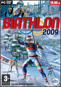 Okładka RTL Biathlon 2009 (PC)