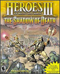 Game Heroes of Might and Magic III: The Shadow of Death (PC) Cover