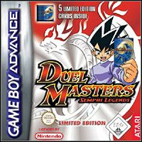Game Duel Masters: Sempai Legends (GBA) Cover