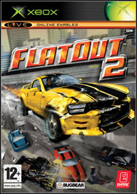 Game FlatOut 2 (PC) Cover
