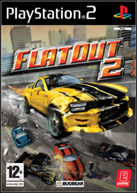 Game FlatOut 2 (PS2) Cover