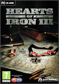 Hearts of Iron III Game Box