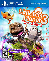 Game LittleBigPlanet 3 (PS4) Cover
