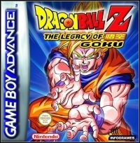 Game Dragon Ball Z: The Legacy of Goku (GBA) Cover