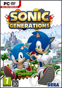 Game Sonic Generations (X360) Cover