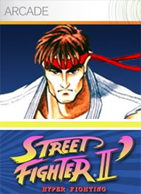 Street Fighter II: Hyper Fighting Game Box