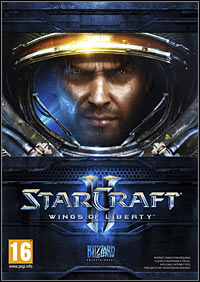 StarCraft II: Wings of Liberty Game Box