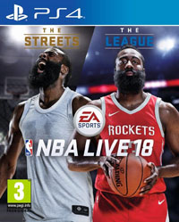 Game NBA Live 18 (PS4) Cover