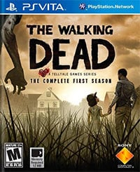 Game The Walking Dead: A Telltale Games Series - Season One (PSV) Cover