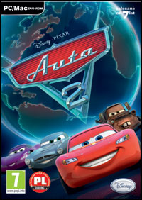 Cars 2: The Video Game Game Box