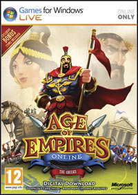 Age of Empires Online Game Box