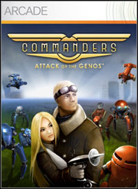 Okładka Commanders: Attack of the Genos (X360)