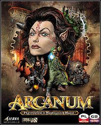 Okładka Arcanum: Of Steamworks and Magick Obscura (PC)