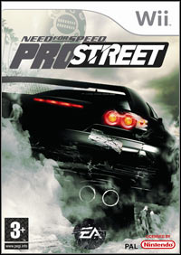 Game Need for Speed ProStreet (PS2) Cover