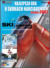 Okładka RTL Ski Jumping 2007 (PC)