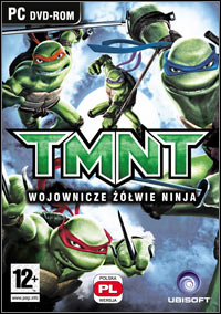 Okładka TMNT - Teenage Mutant Ninja Turtles (PC)