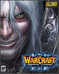 Warcraft III: The Frozen Throne Game Box