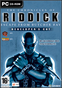 Okładka The Chronicles of Riddick: Escape From Butcher Bay - DC (PC)