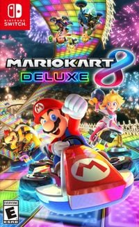 Game Mario Kart 8 Deluxe (Switch) Cover