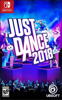 Okładka Just Dance 2018 (Switch)