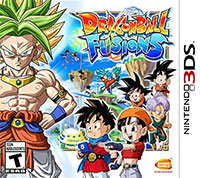 Game Dragon Ball: Fusions (3DS) Cover