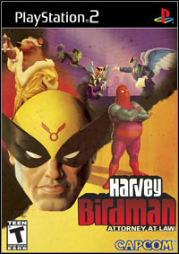Okładka Harvey Birdman Attorney At Law (PS2)