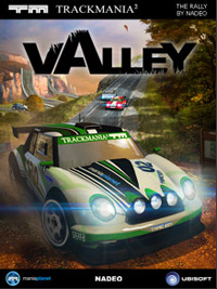 TrackMania 2: Valley Game Box