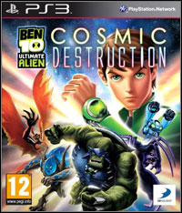 Game Ben 10 Ultimate Alien: Cosmic Destruction (X360) Cover