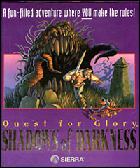 Game Quest for Glory IV: Shadows of Darkness (PC) Cover