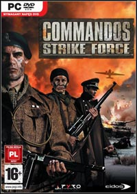 Okładka Commandos: Strike Force (PC)
