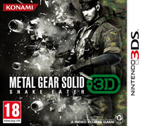 Okładka Metal Gear Solid 3D: Snake Eater (3DS)
