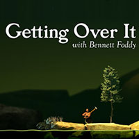 Getting over it with Bennett Foddy Miniature