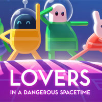 Lovers in a Dangerous Spacetime (Switch)