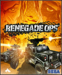 Renegade Ops Game Box