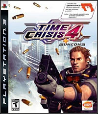 Okładka Time Crisis 4 (PS3)