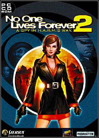 No One Lives Forever 2: A Spy in H.A.R.M.'s Way Game Box