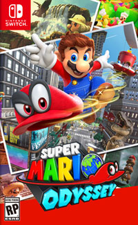 Super Mario Odyssey Game Box